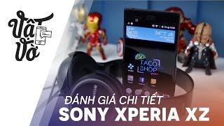 Vật Vờ  Đánh giá chi tiết Sony Xperia XZ