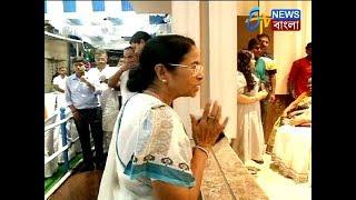 মমতা বন্দ্যোপাধ্যায়ের বাড়ির কালী পুজো। ETV NEWS BANGLA