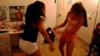 denisha and sonia crazy dance