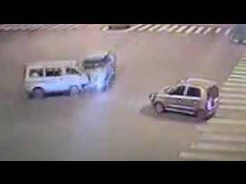 Caught on camera: deadly hit-and-run near Mumbai