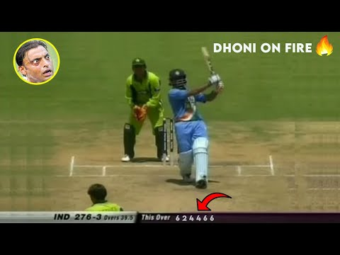 Xxx Mp4 India Vs Pakistan 2nd ODI 2005 Highlights MS DHONI 148 Match Dhoni 1st ODI Century 3gp Sex