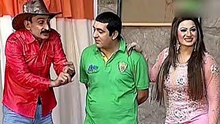 Best Of Zafri Khan and Saima Khan New Pakistani Stage Drama Full Cpmedy Clip