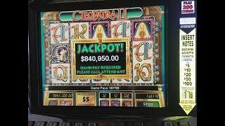 Biggest Cleopatra 2 Jackpot on Youtube