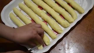 وجبة في دقائق / أصابع البطاطس في الفرن بطريقة جديدة صحية و لذيذة جدا. مع اسهل  طريقة للفلان