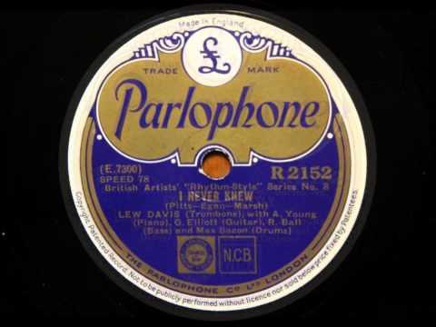 Swing me sweetly & I never knew - Lew Davis