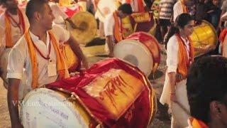 Puneri Dhol Original - You will get Goosebumps - 2014 - Mumbai - Ganpati Visarjan.