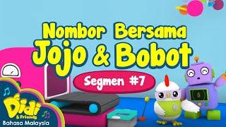 Nombor Bersama Jojo dan Bobot | Didi & Friends  | Segmen #7