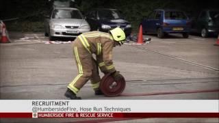 Hose Run Firefighter Selection Test