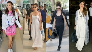 Bollywood Actresses Airport Styles and Without Make Up