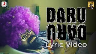 DARU DARU – LYRIC VIDEO | DEEP JANDU FEAT DIVINE & GANGIS KHAN