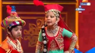 India's Best Dramebaaz : Parth & Twinkle –Akbar & Anarkali act