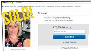 Man Auctions Girlfriend on eBAY ft. DavidSoComedy