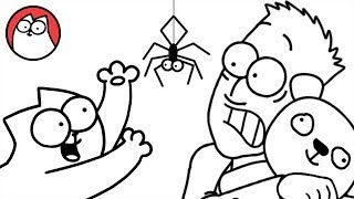 Spider Cat - Simon's Cat (Halloween Special) | COLLECTION