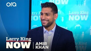 Amir Khan on his next fight, Mayweather v. McGregor, and Islamophobia
