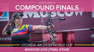 Compound highlights |Moscow 2019 Hyundai Archery World Cup Final