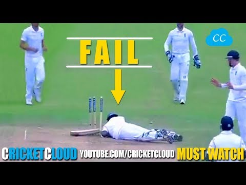 Worst BATTING FAILS in the Cricket History Please comment the Worst Fail