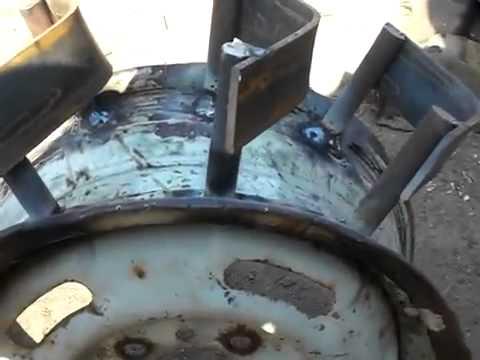 Мотоблок нева грунтозацепы своими руками видео