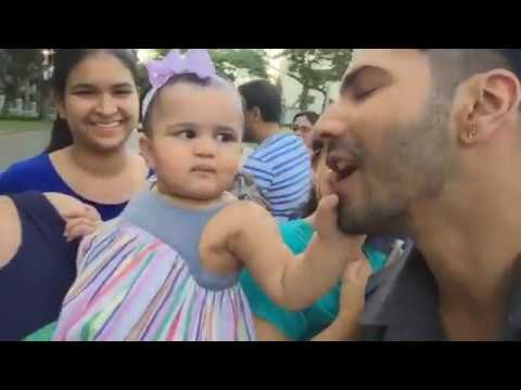 Xxx Mp4 Varun Dhawan Met A Cute Kid Fan Amp Family On Road 3gp Sex