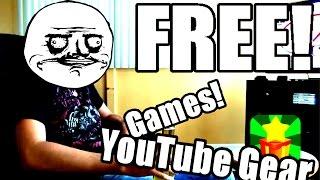 Get FREE Games, Money, & YouTube Equipment