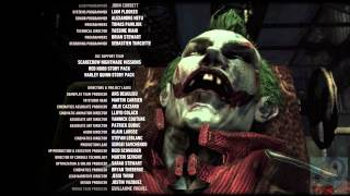 Batman: Arkham Knight - The Joker Singing Look Who's Laughing Now (Credits)