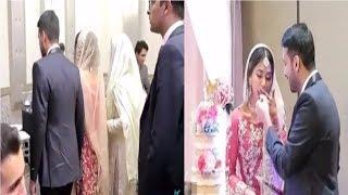 Zaid Ali T - Rukhsati and Cake Cutting Video
