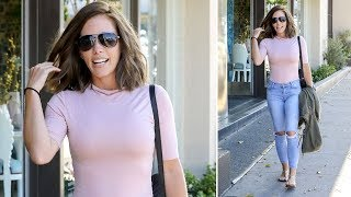 Newly Single Kendra Wilkinson Stuns As A Brunette