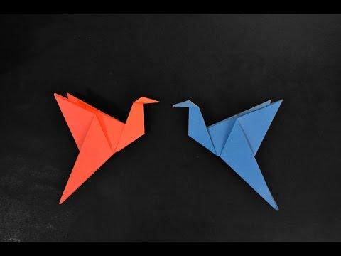 Origami Flapping Bird Pássaro que bate as asas
