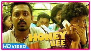 Honey Bee Malayalam Movie | Scenes | Baburaj gets gunshot | Asil Ali | Bhavana | Sreenath Bhasi