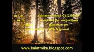Kanna Unaith Thedugiren Vaa Tamil Karaoke For Male Singers