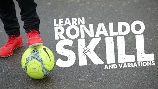 Learn Ronaldo Football skill & skills variation - Day 34 of 90