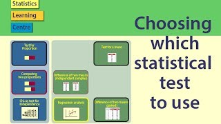 Choosing which statistical test to use - statistics help