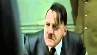 Hitler se entera de la muerte de Jiraiya (Naruto Shippuden)