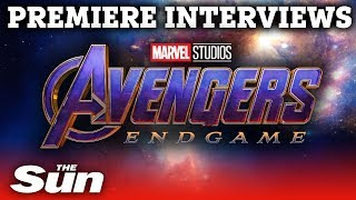 Avengers: Endgame   interviews from the premiere