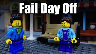 Lego Fail Day Off 🔴 Stop Motion Animation 🎬 PL Movie