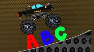 Monster Truck | Monster Truck Alphabets | Learn Alphabets