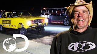 AZN and Farmtruck Take On Four Opponents In The Gonorail | Street Outlaws