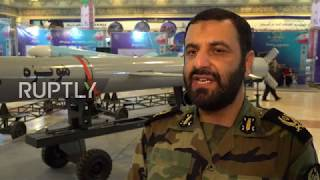 Iran: New drones and missiles unveiled at military exhibit in Tehran