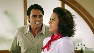 Arjun Furious Over Preity's Pranks - Dil Hai Tumhara Scene