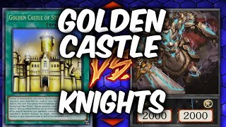 Yugioh NOBLE-KNIGHTS vs GOLDEN CASTLE (Yu-gi-oh Competitve Duel!)