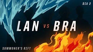 LAN x BRA (Dia 2 - Modo Assassino) - IWCA 2016