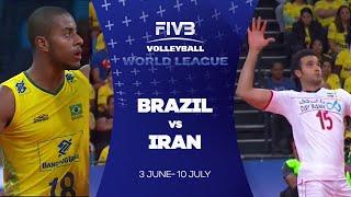 Brazil v Iran highlights - FIVB World League
