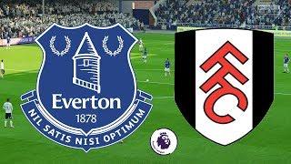 Premier League 2018/19 - Everton Vs Fulham - 29/09/18 - FIFA 18