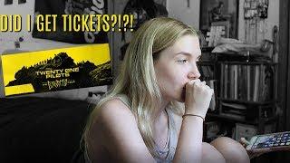 Trying To Buy Twenty One Pilots Tickets... | Olivia Rena