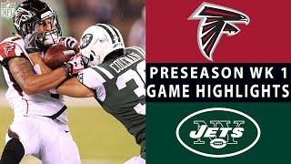 Falcons vs. Jets Highlights   NFL 2018 Preseason Week 1