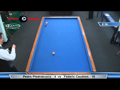 3C Million Dollar Billiards Frederic Caudron vs Pedro Piedrabuena