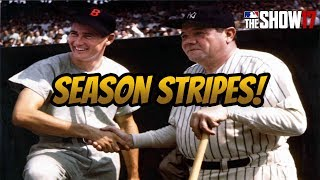 *New* Ranked Seasons Stripes! [Livestream] [MLB The Show 17 Diamond Dynasty]