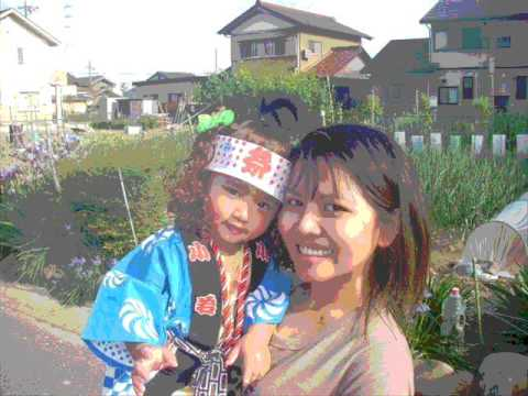 pray and mommy in japan
