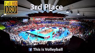Italy vs France | 17 July 2016 | 3rd Place | 2016 FIVB Volleyball World League