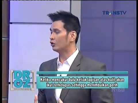Dr OZ Indonesia Efek Mencukur Bulu Ketiak 31 Oktober 2014