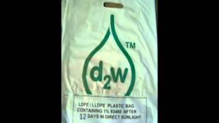 Bolsa con aditivo d2w